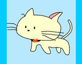 Dibujo Cría de gato pintado por Javikawaii