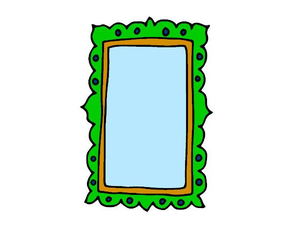Dibujo de espejo de pared pintado por annita123 en dibujos - Dibujos para espejos ...