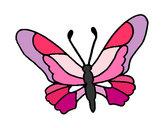 Dibujo Mariposa 6a pintado por Maria4545