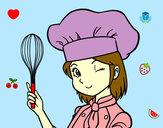 Dibujo Cocinera pintado por AnaLucia14