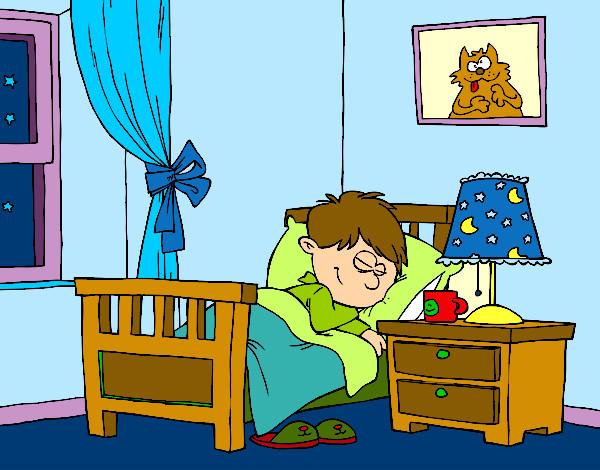 Dibujo de habitaci n pintado por queyla en el - Dibujo habitacion infantil ...