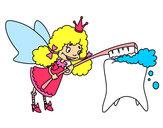Dibujo Hada de los dientes pintado por Martiwis