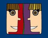Dibujo Signo de Géminis pintado por miapp