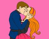 Dibujo Beso de amor pintado por Adriana11