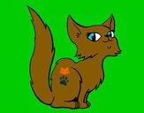 Dibujo Gata persa pintado por LuiisaOMG