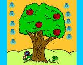 Dibujo Manzano pintado por  janm