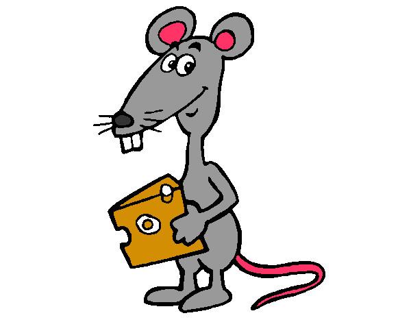 Dibujo De Rata 2 Pintado Por Cristialgo En Dibujos.net El