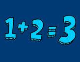 Dibujo 1+2=3 pintado por Noe78