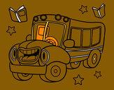 Dibujo Autobús animado pintado por SanJoaquin