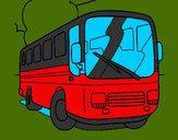 Dibujo Autobús pintado por SanJoaquin
