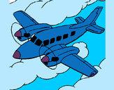 Dibujo Avioneta 1 pintado por secayean