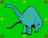 Dibujo Braquiosaurio II pintado por AlexManGtz