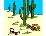 Dibujo Desierto pintado por Assin