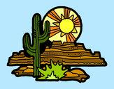 Dibujo Desierto de Colorado pintado por Assin
