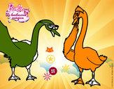 Dibujo El baile de los cisnes pintado por elenaya283