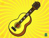 Dibujo Guitarra clásica pintado por IlMigliore