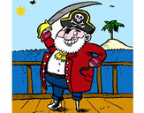 Dibujo Pirata a bordo pintado por marileny