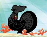 Dibujo Signo del Gallo pintado por secayean