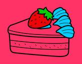 Dibujo Tarta de fresas pintado por secayean