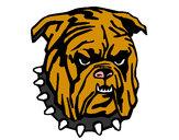 Dibujo Bull dog pintado por flore777