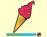 Dibujo Cono helado pintado por p1a2