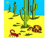 Dibujo Desierto pintado por flore777