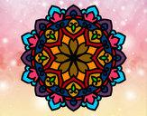 Dibujo Mandala celta pintado por GELS