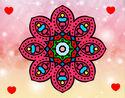 Dibujo Mandala de inspiración árabe pintado por daniela898