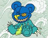 Dibujo Osito monstruoso pintado por sofi1604