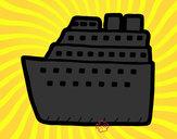 Dibujo Crucero pintado por anasalazar