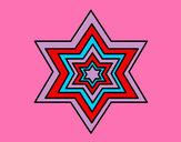 Dibujo Estrella 2 pintado por valuucha