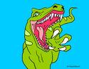 Dibujo Velociraptor II pintado por valeterry