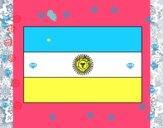 Dibujo Argentina pintado por miley15
