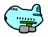 Avión grande