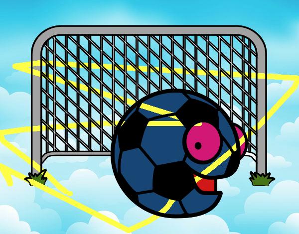 El Mejor Porter Para Colorear El Mejor Porter Para Imprimir: Dibujo De Fútbol Pintado Por Arni En Dibujos.net El Día