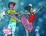 Barbie bailando ballet