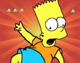 Dibujo Bart 2 pintado por nmr5461
