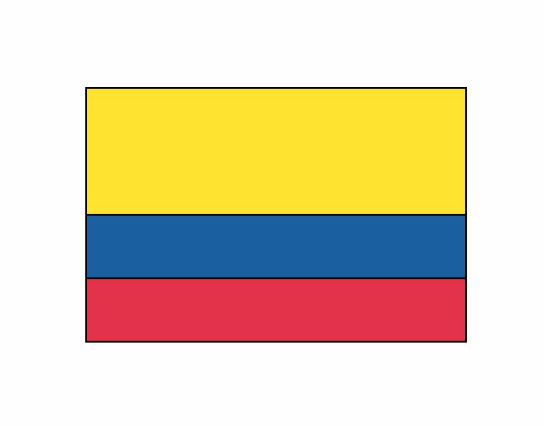 Dibujo Colombia pintado por Daniel_rvg