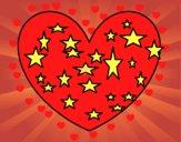 Corazón estrellado