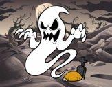 Dibujo El fantasma de la tumba pintado por vicpaodie9