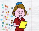 Enfermera sonriente