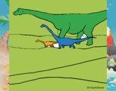 Familia de Braquiosaurios