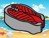 Filete de atún