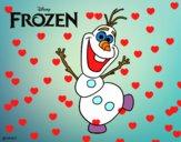 Frozen Olaf bailando
