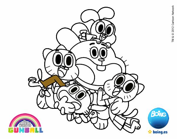 Gumball y amigos contentos