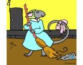 Dibujo La ratita presumida 8 pintado por audora
