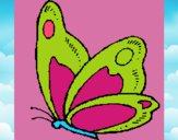 Dibujo Mariposa 14 pintado por dianita12