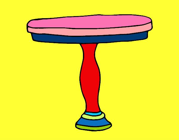 Dibujo de mesa redonda pintado por mariadelca en dibujos - Salon mesa redonda ...