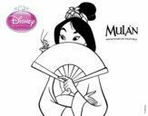 Mulan - Mulan y el grillo de la suerte