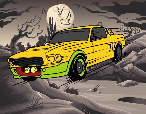 Mustang retro